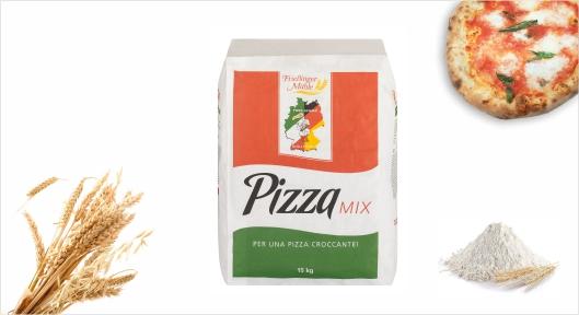 Mehl Pizza Pizzamix 25kg - Pizza-Schule