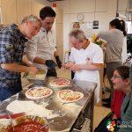 Lebenshilfe beim Pizzaseminar