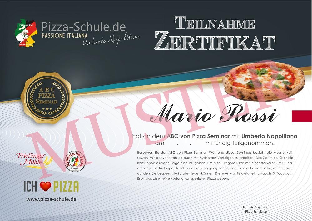 Das ABC von Pizza Seminar in Köln Muster