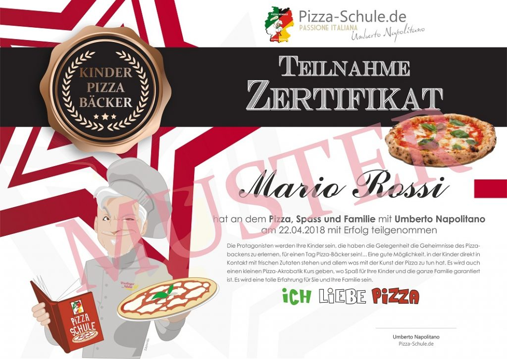 Pizza, Spass und Familie in Köln Muster