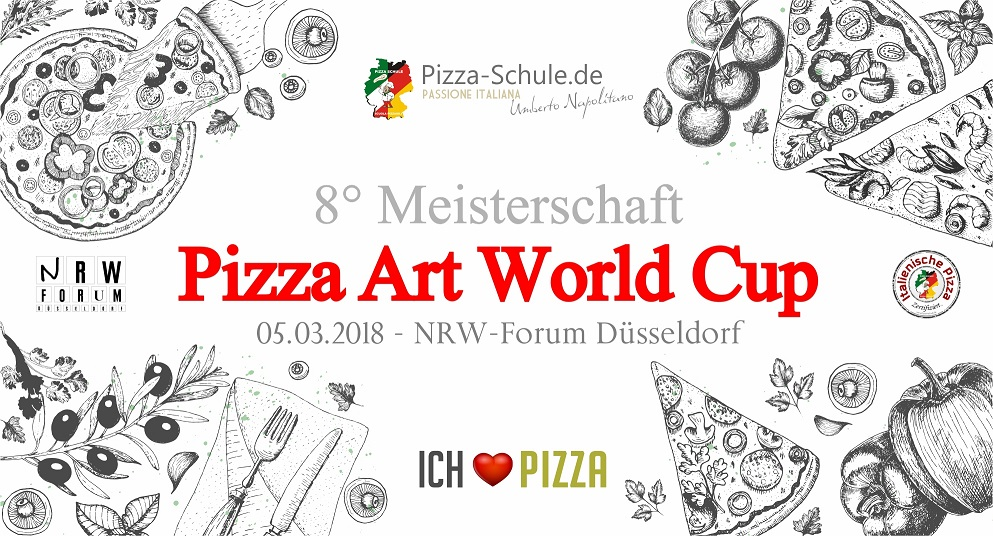 8° Meisterschaft Pizza Art World Cup