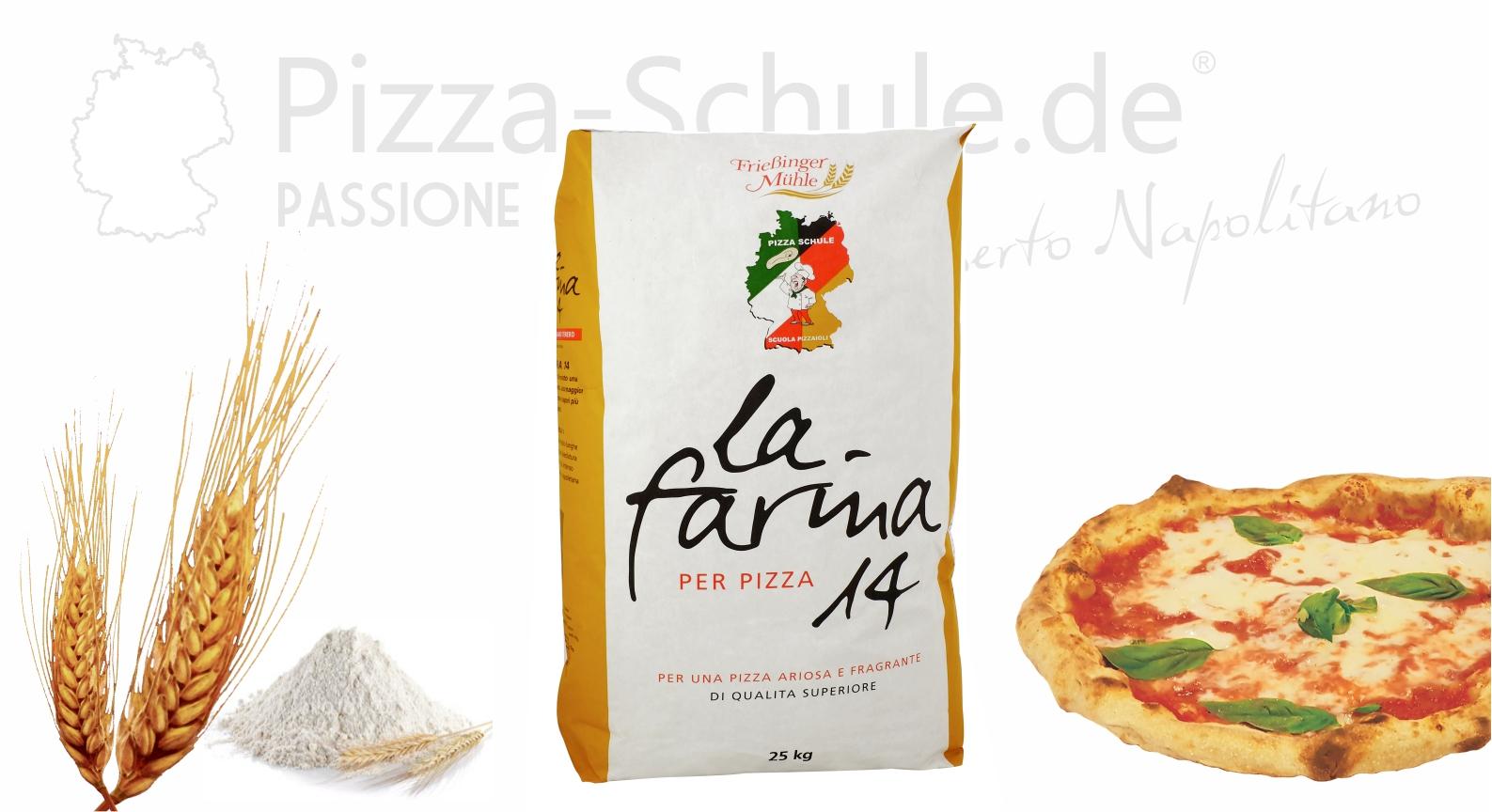 Pizzamehl T00 mit 14% Protein