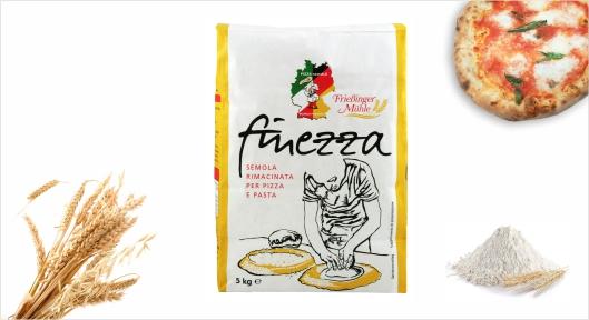 Mehl Pizzamehl Finezza 5kg - Pizza-Schule