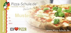 Gutschein Pizza-Schule