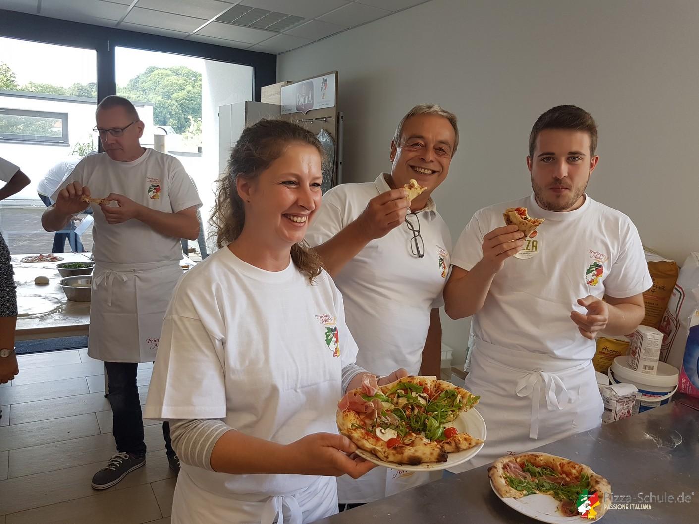 Pizza-Seminar Frießinger bei Pizza-Schule.de