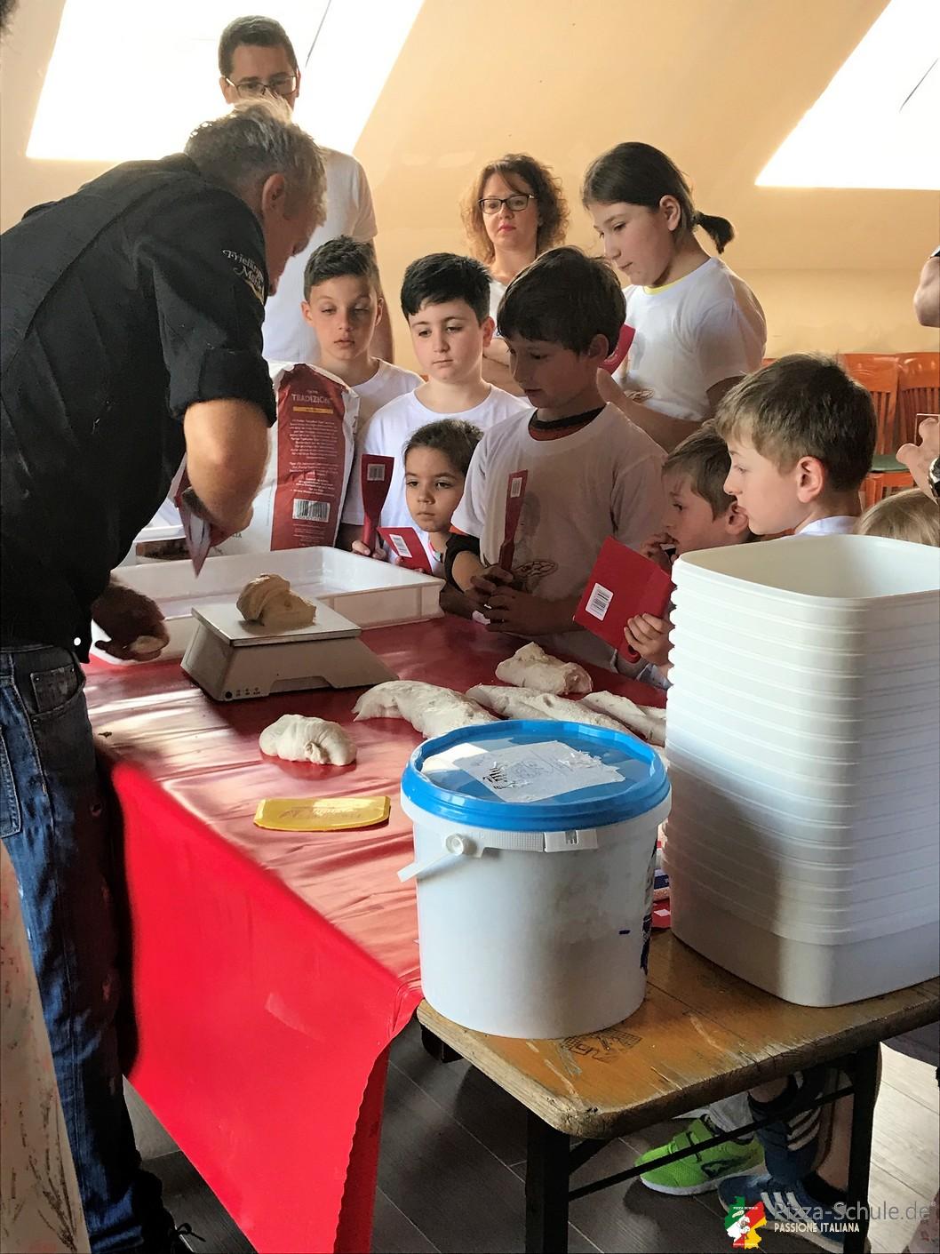 Pizza, Spass und Familie in Köln 22 April 2018