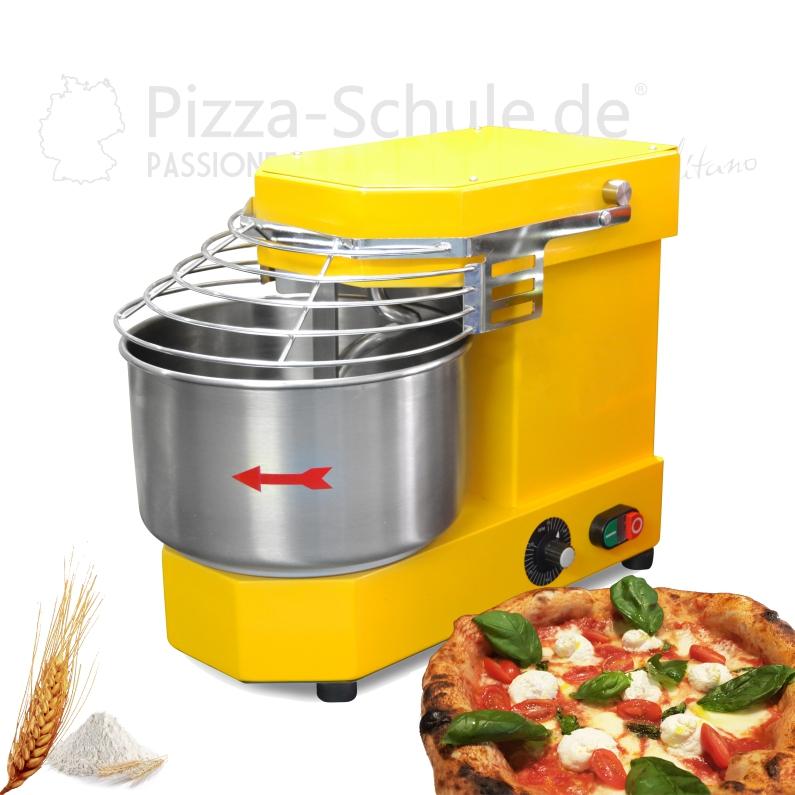 Professionelle Teigmaschine für kleine Teigmassen 6-10-15 kg Pizza-Schule