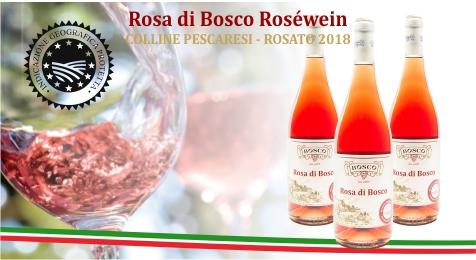 Roséwein - Rosa di Bosco - Pizza-Schule