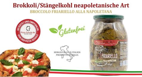 Brokkoli Friarielli Stängelkohl neapoletanische Art