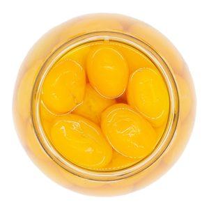 Ganze gelbe Datteltomaten natur