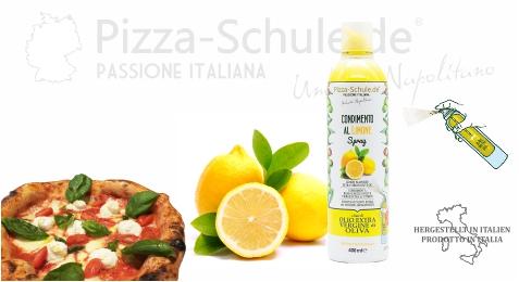 Natives Olivenöl Extra mit Zitrone aromatisiert