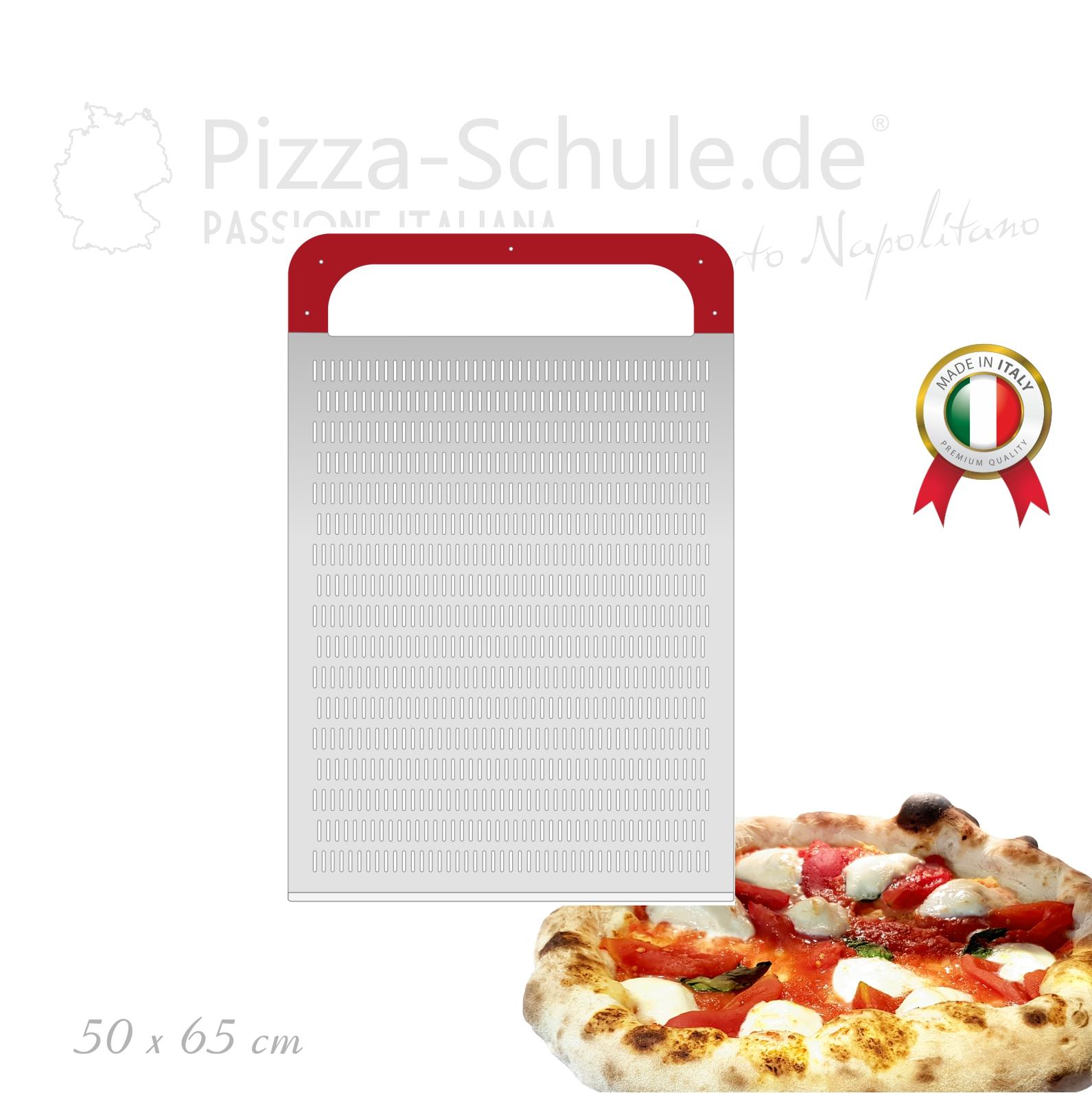 Rechteckig Pizza Schaufeln perforiert