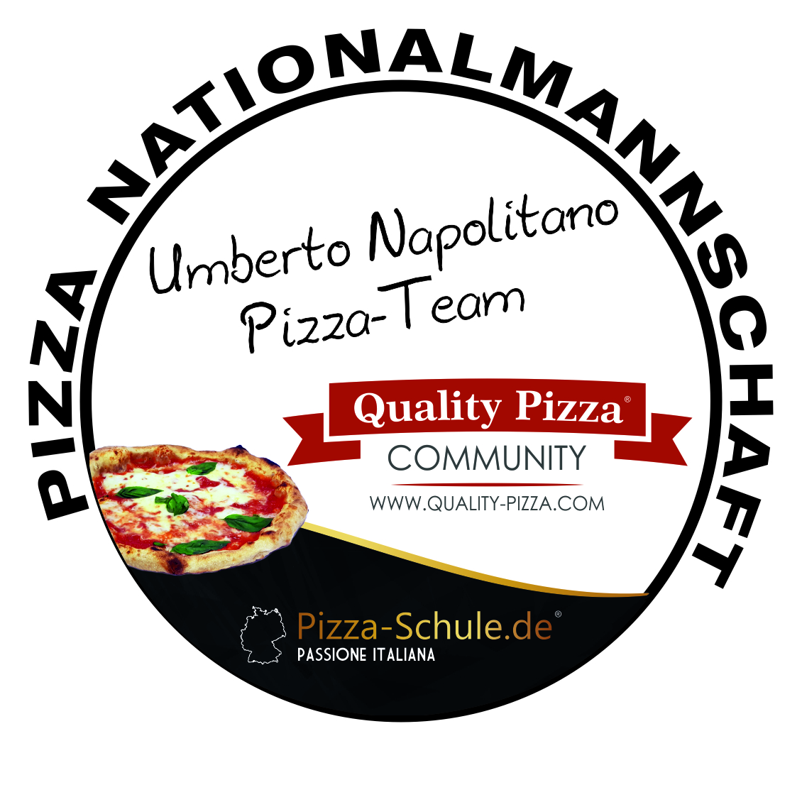 Pizza Nationalmannschaft Team Umberto Napolitano