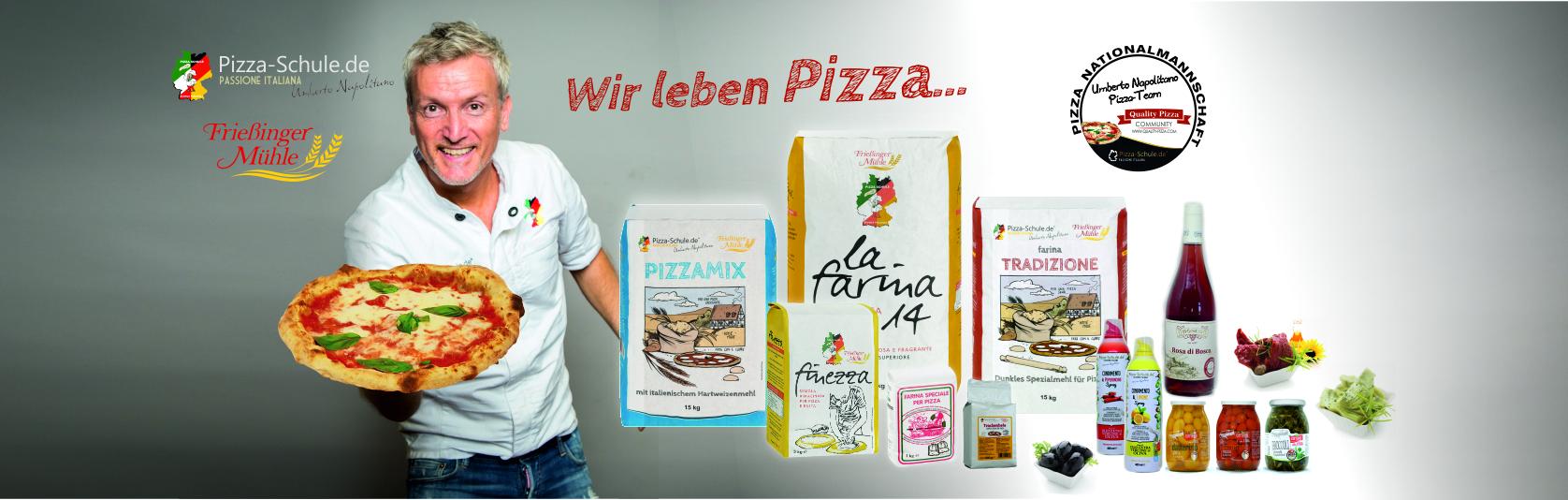 Pizzeria-Produktlinie Pizza-Schule - Umberto Napolitano 2019
