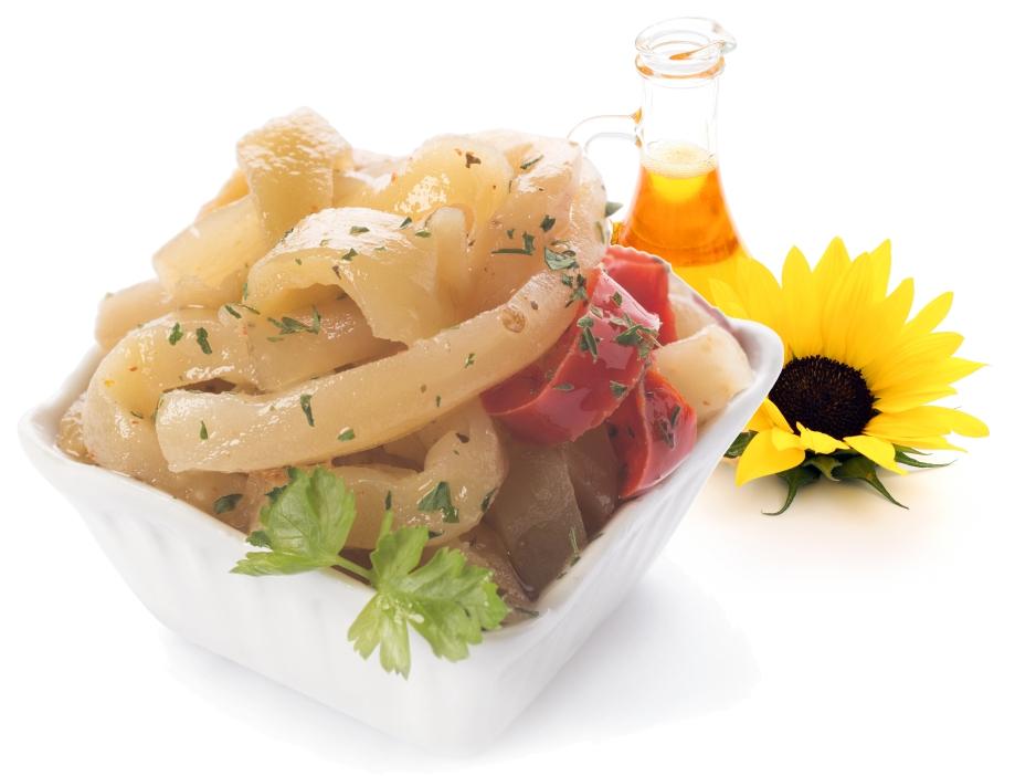 Auberginen nach Pugliese-Art in Sonnenblumenöl