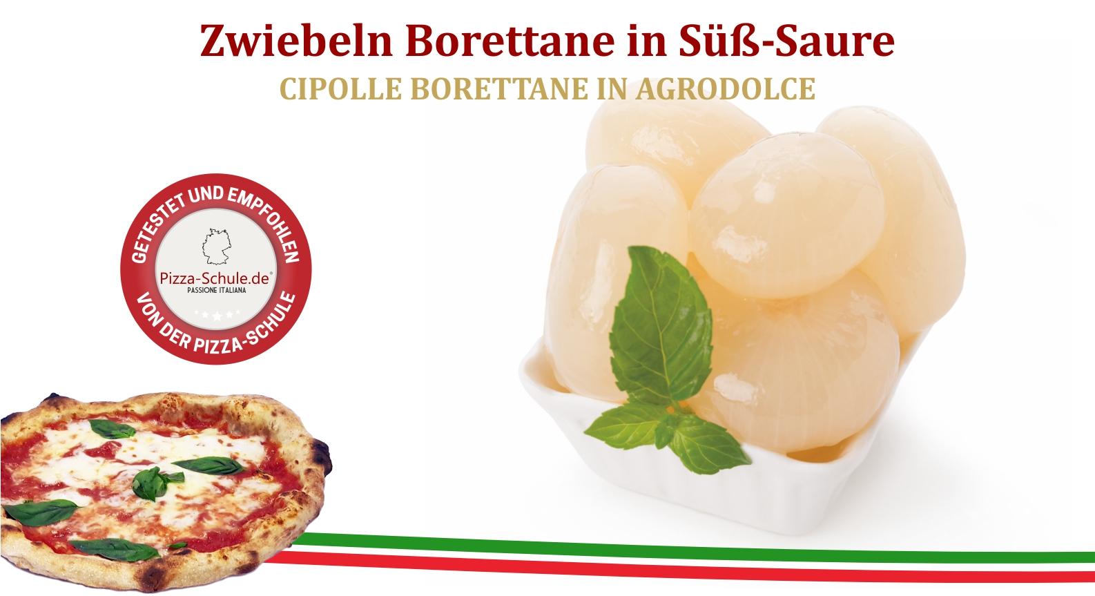 Zwiebeln Borettane in Süß-Saure