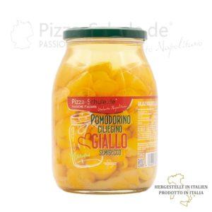 Halbgetrocknete gelbe Kirschtomaten 2020 a