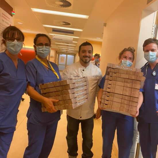 Doniamo Pizze in Ospedale 10