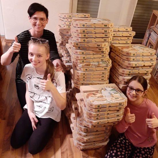 Pizza Task Force gegen das Coronavirus