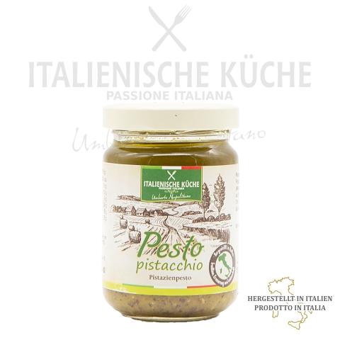 Pistazienpesto – Pesto al Pistacchio Italienische Küche g002