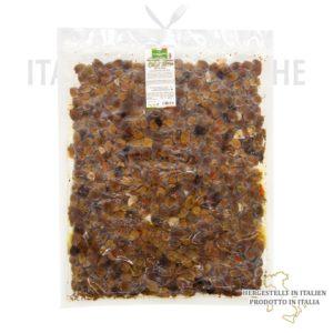 Schwarze Oliven ohne Stein – Olive Nere denocciolate g012
