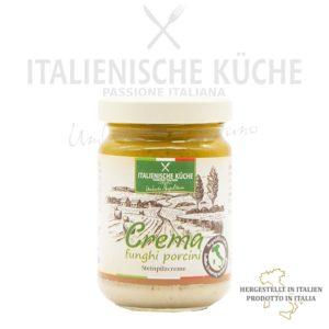 Steinpilzcreme – Crema ai funghi Porcini Italienische Küche g006