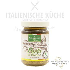 Zitronenpesto – Pesto al Limone Italienische Küche g004