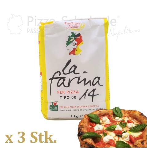 La Farina 14 - Pizza Mehl - Pizza-Schule