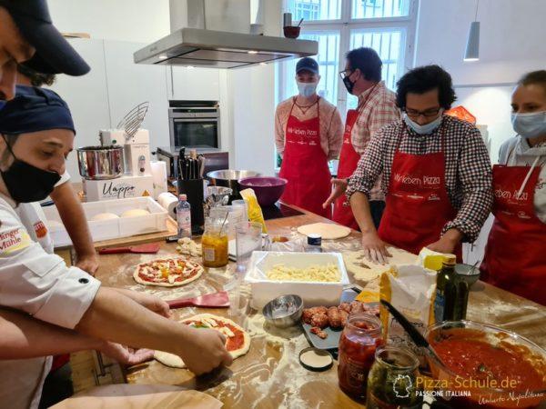 Bildergalerie zum Pizza-Seminar für Anfänger_