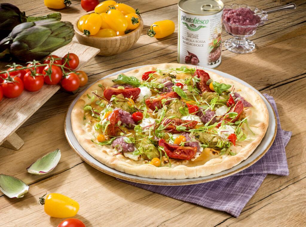 VEGANA Greci - Pizza-Schule