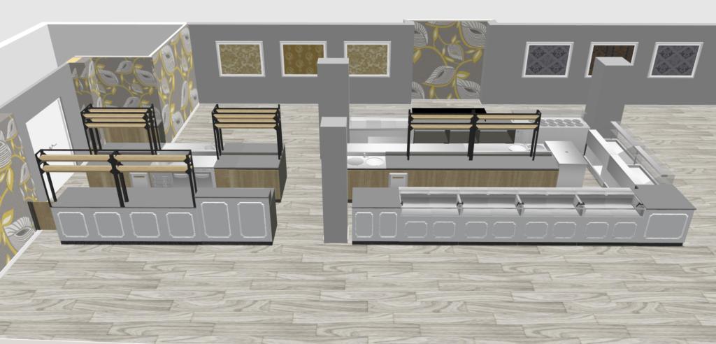 Bakery Café Lab 3D